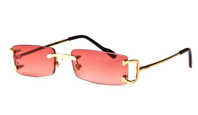 Wholesale Cheap Cartier Rimless Replica Glasses for Sale-011